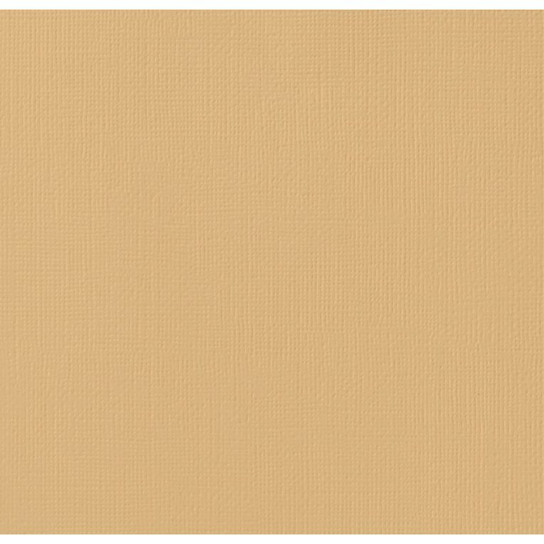 American Crafts Cardstock Textured Dark Kraft Blue 12in x 12in, , hi-res