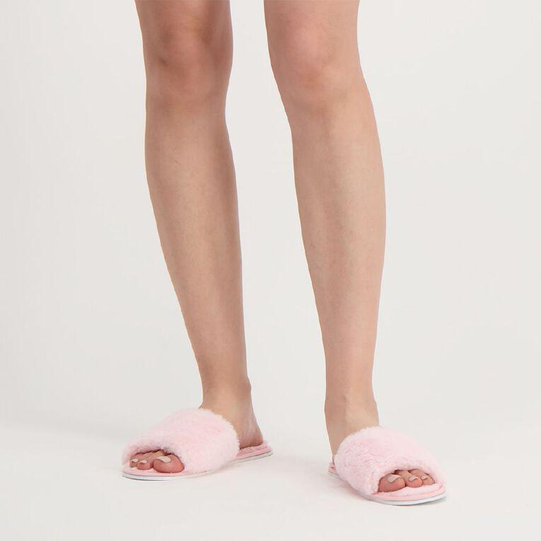 H&H Women's Mia Scuff Slippers, Pink, hi-res