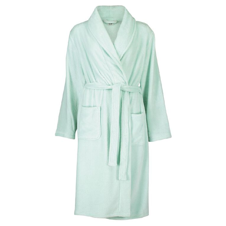 H&H Women's Robe, Mint, hi-res image number null
