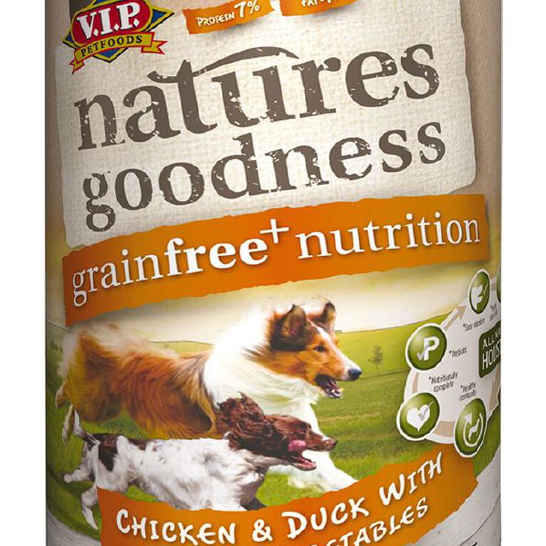 Natures Goodness Dog Chicken/Duck and Garden Vegetables 400g, , hi-res image number null