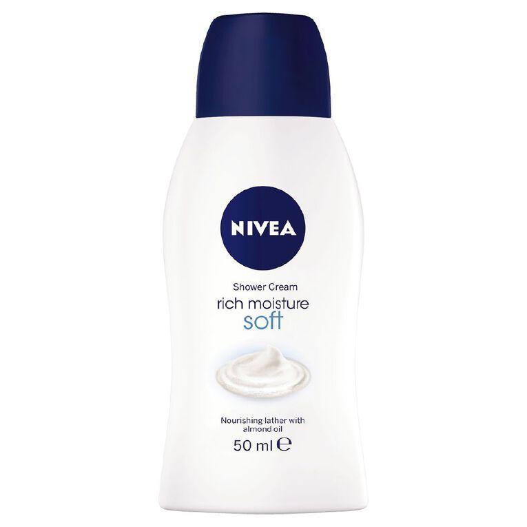 Nivea Shower Gel Mini Soft 50ml, , hi-res