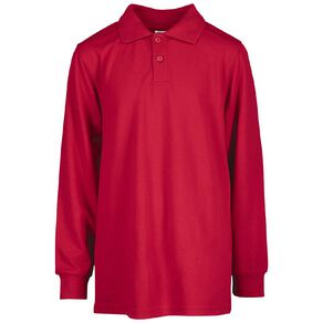 Schooltex Kids' Long Sleeve Polo