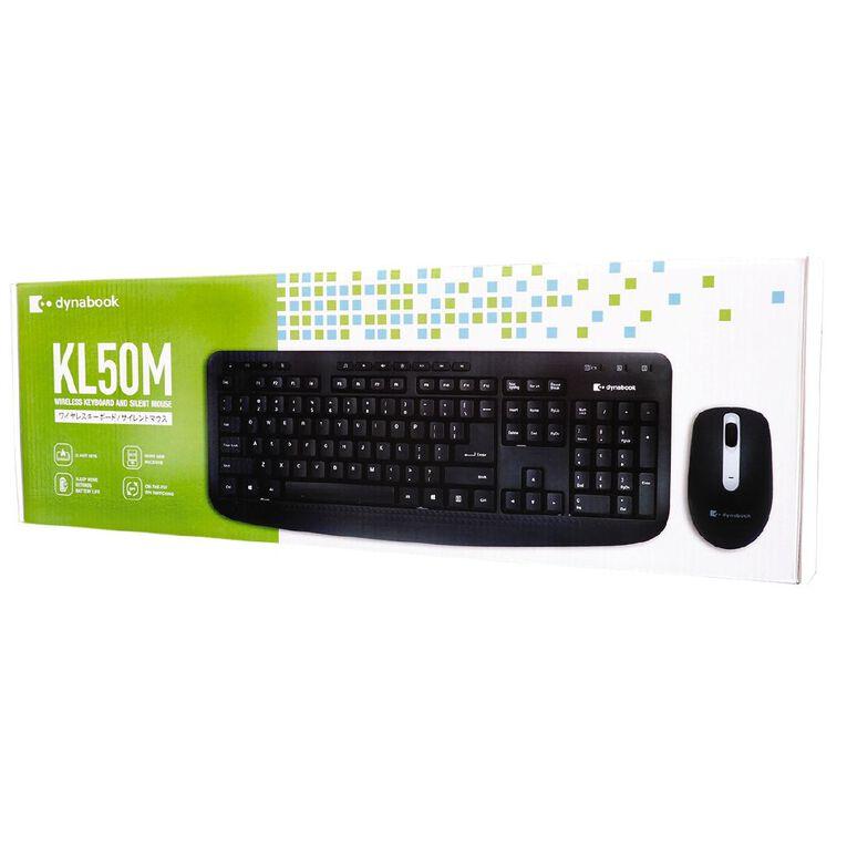 Dynabook KLM50 Wireless Keyboard Combo Black, , hi-res