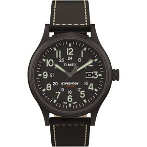 Timex Expedition Scout Solar 40mm Watch Black
