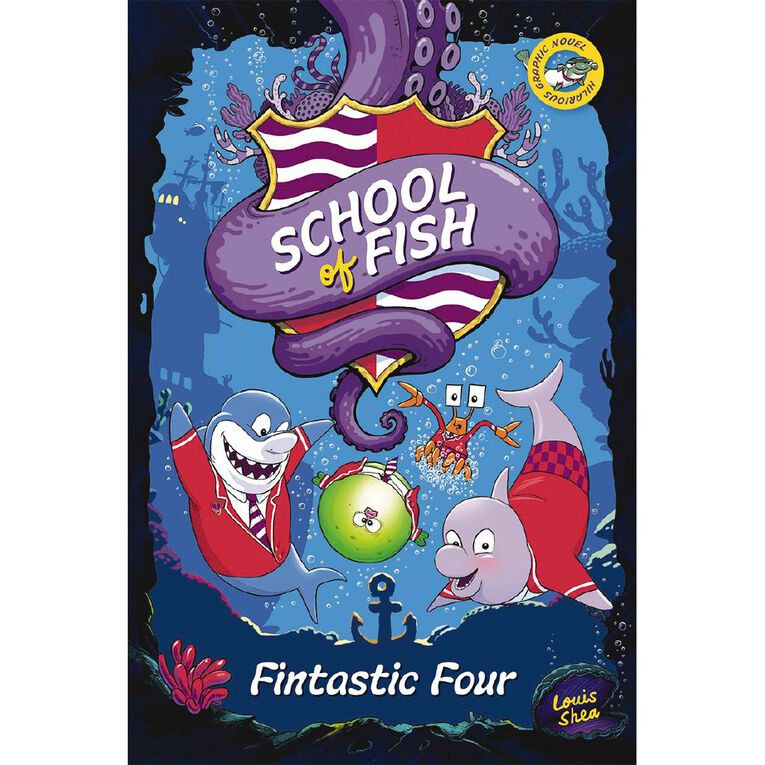 School of Fish #1 Fintastic Four by Louis Shea, , hi-res