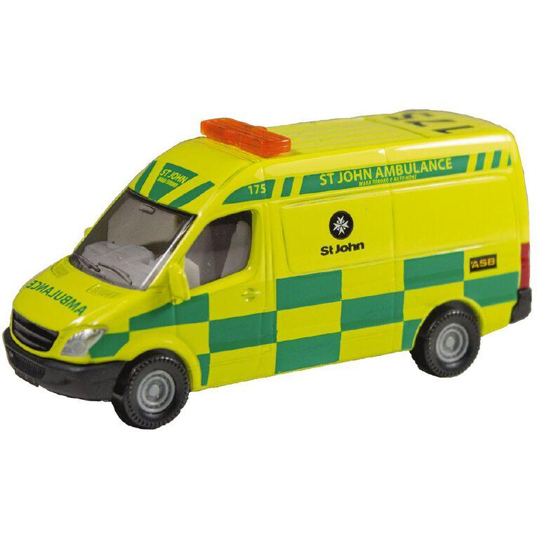 Siku Mercedes St John Ambulance, , hi-res