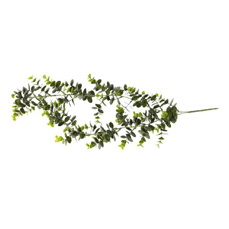 Living & Co Artificial Eucalyptus Bush 74cm Green, , hi-res