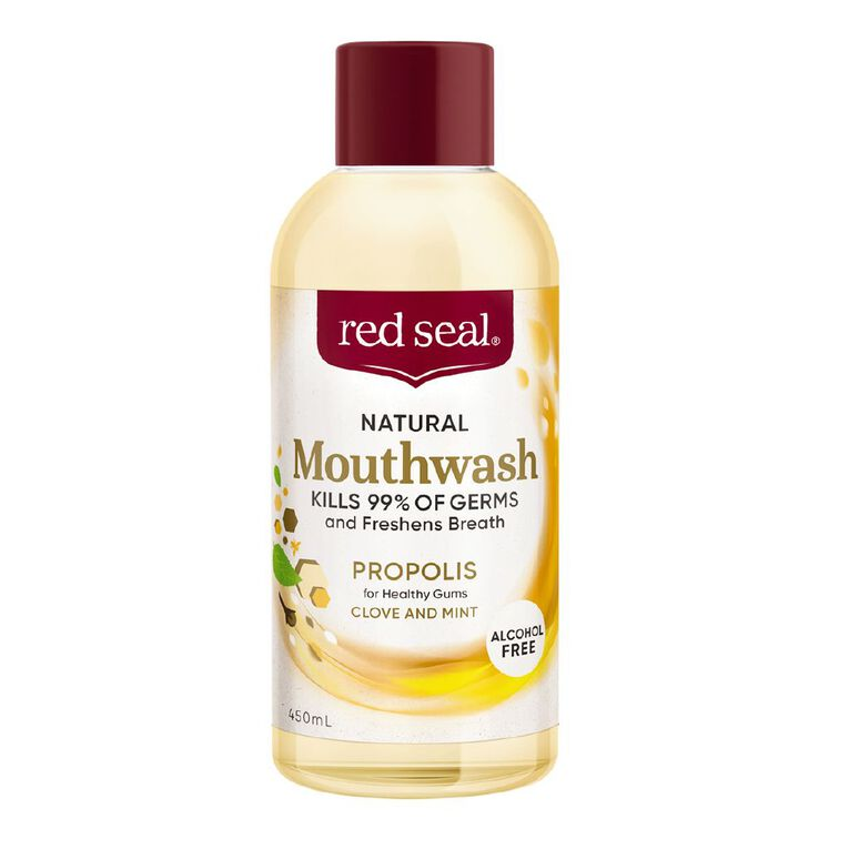 Red Seal Natural Mouthwash Propolis 450ml, , hi-res