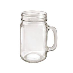 Living & Co Classic Glass Mason Jar 480ml