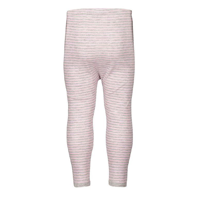 H&H Infants Polyester Viscose Long John Thermal, Pink, hi-res