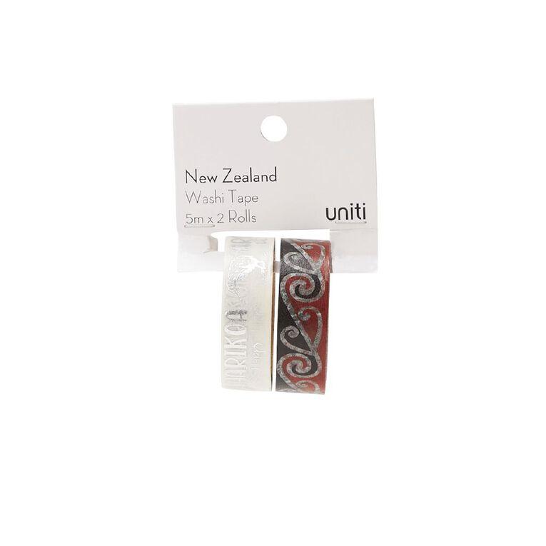Uniti New Zealand Washi Tape 2 Pack Harikoa, , hi-res