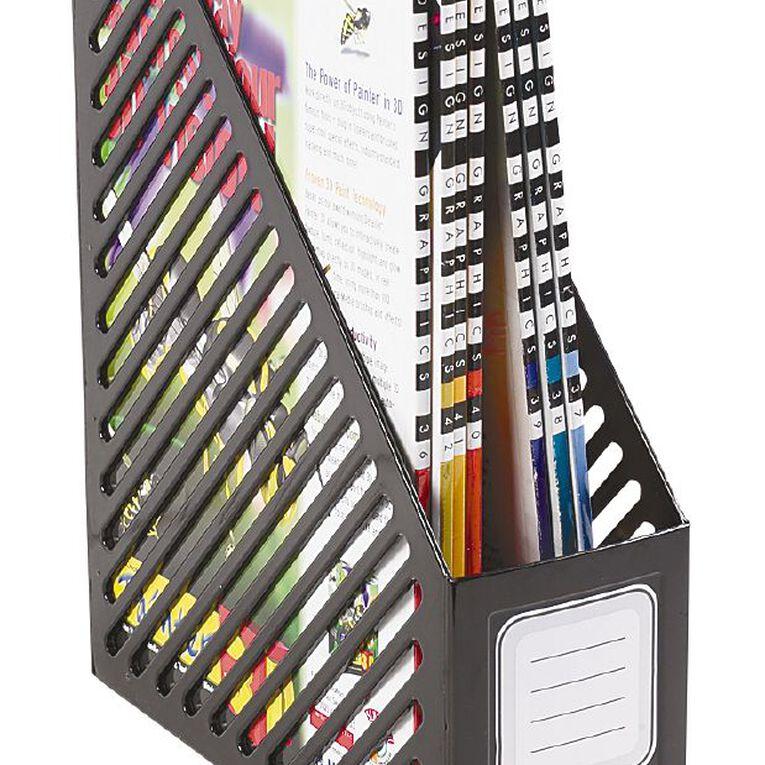 Office Supply Co Magazine File Black, , hi-res