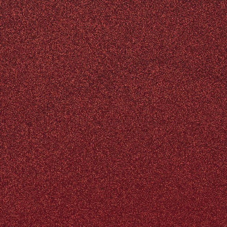 American Crafts Cardstock Glitter Medium 12 x 12 Rouge Red, , hi-res image number null