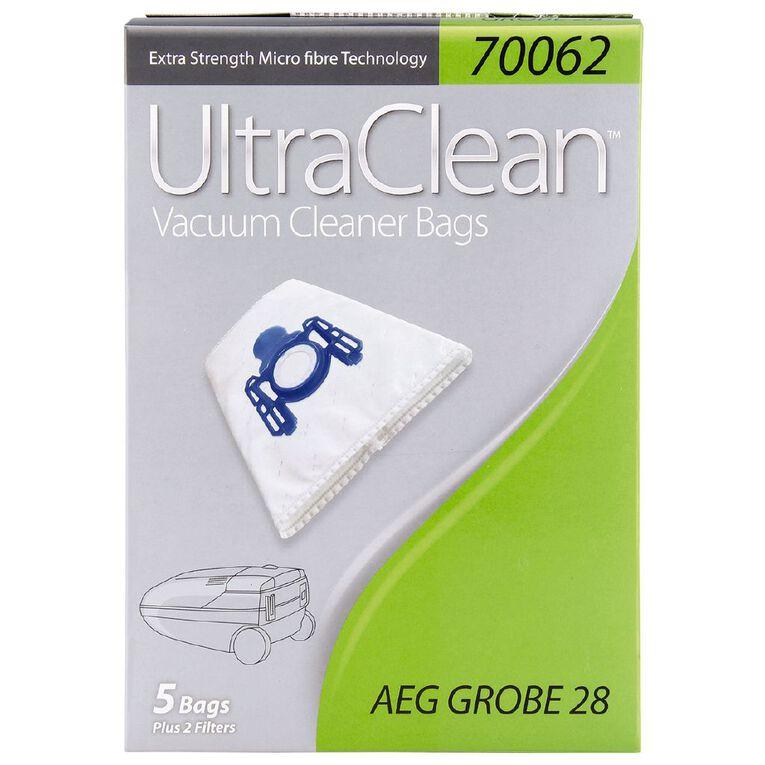 Ultra Clean Vacuum Bags For AEG Grobe 5 Pack, , hi-res
