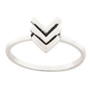 Sterling Silver Chevron Stacker Ring