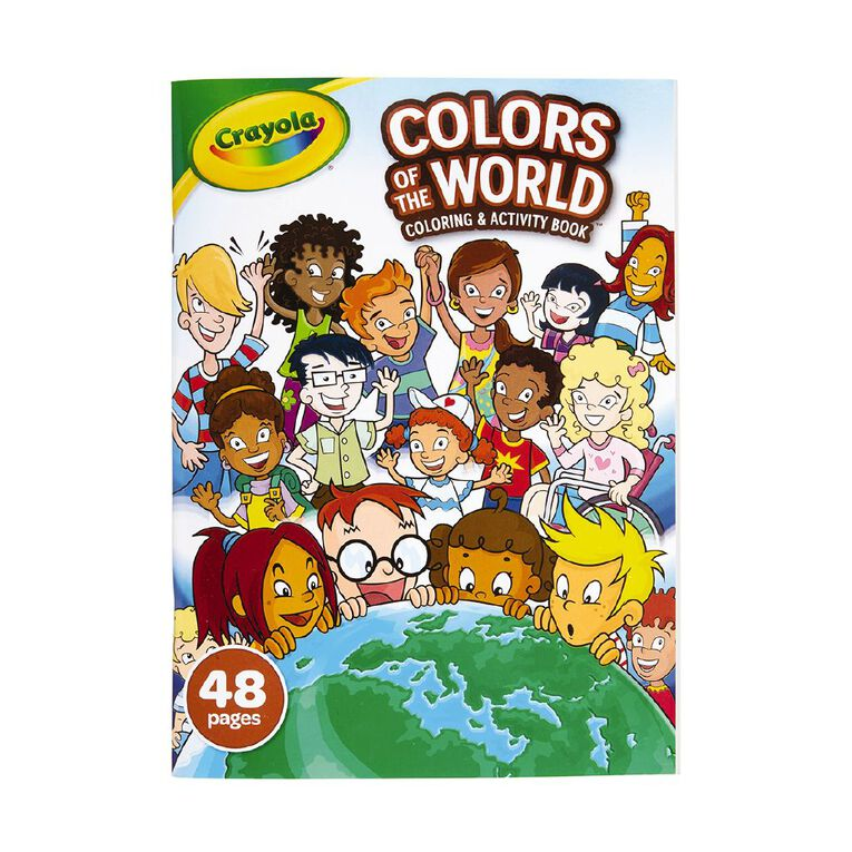 Crayola Colors of the World Coloring Book, , hi-res