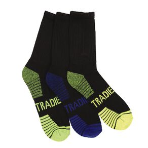 Tradie Men's Sport Tech Socks 3 Pack