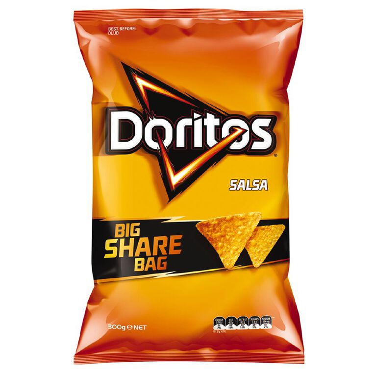 Doritos Doritos Salsa Party Bag 300g, , hi-res