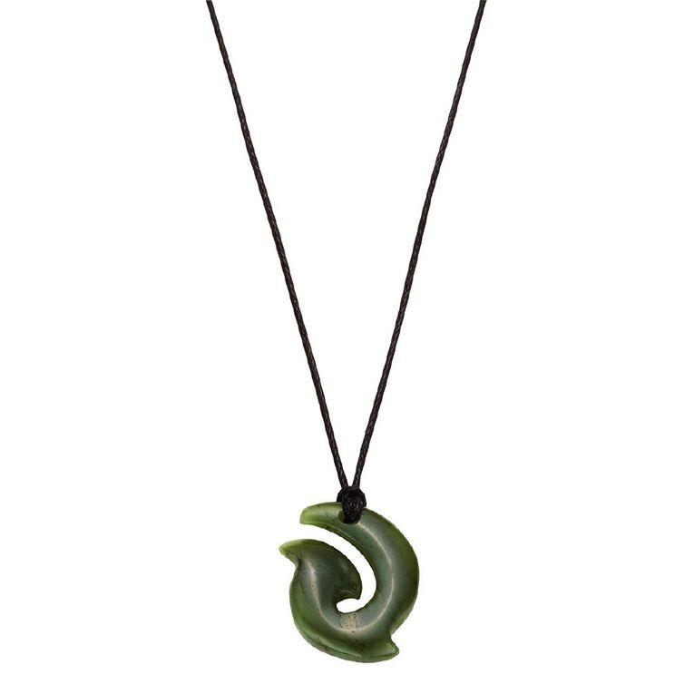 Jade Mini Hook Pendant 15x20x5mm, , hi-res