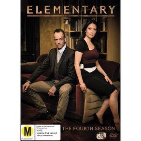 Elementary Season 4 DVD 6Disc