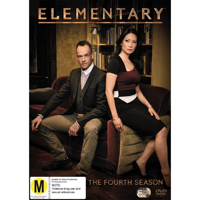 Elementary Season 4 DVD 6Disc, , hi-res
