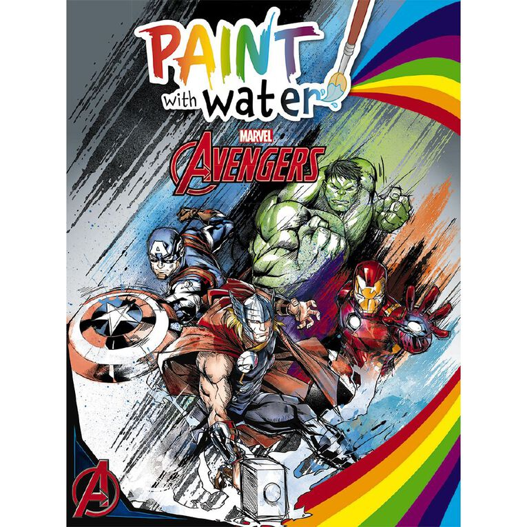 Marvel Avengers Classic: Paint with Water, , hi-res