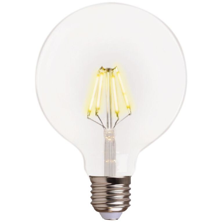 Living & Co LED Round E27 Clear 4w Warm White, , hi-res image number null