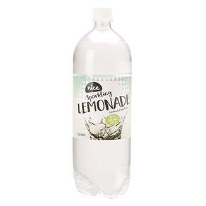 Nice 99% Sugar Free Lemonade Carbonated Beverage Drink 1.5L