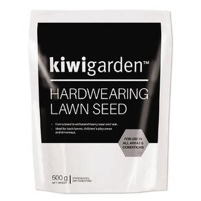 Kiwi Garden Hardwearing Lawn Seeds 500g