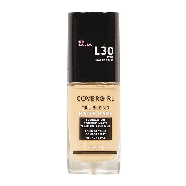 Covergirl TruBlend Matte L30 Golden Ivory, , hi-res