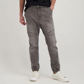 Garage Men's Tapered Pocket Jogger Jeans