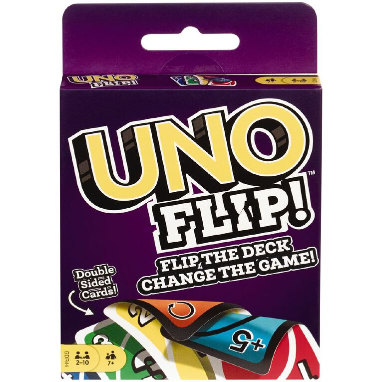 UNO Flip Card Game, , hi-res