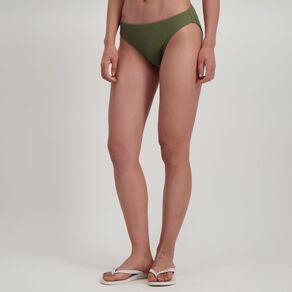 H&H Women's Textured Basic Bikini Bottoms