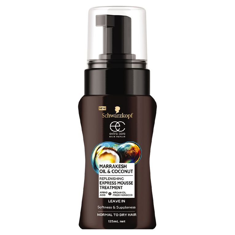 Schwarzkopf Extra Care Marrakesh Oil & Coconut Mousse 125ml, , hi-res