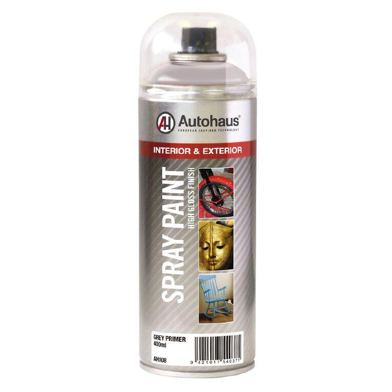 Autohaus Spray Paint Primer Grey 400ml, , hi-res