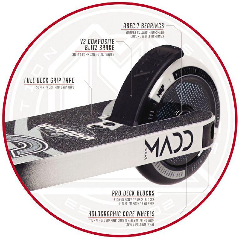 MADD Kick Pro Scooter Black/Grey, , hi-res