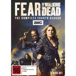 Fear The Walking Dead Season 4 DVD 5Disc