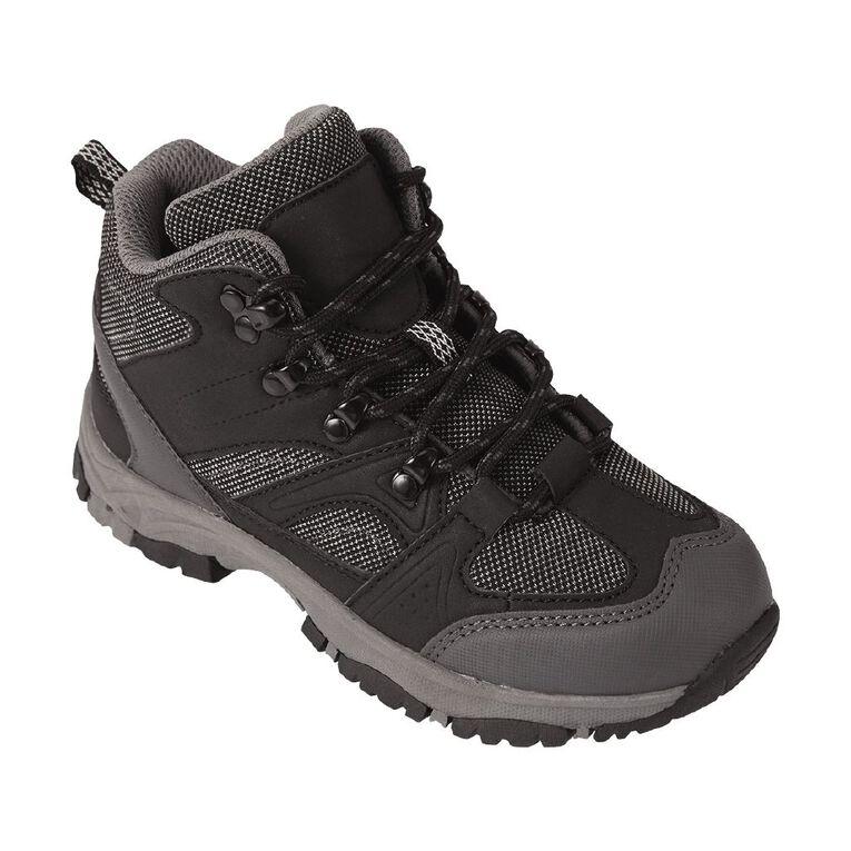 Back Country Kids' Explorer Shoes, Black, hi-res