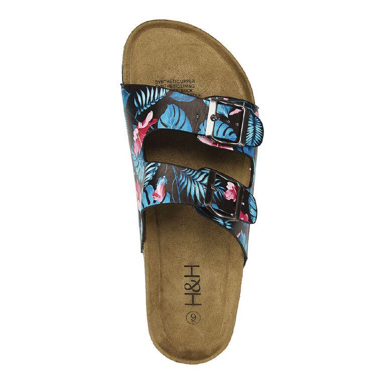 H&H Women's Harper Sandals, Black, hi-res image number null