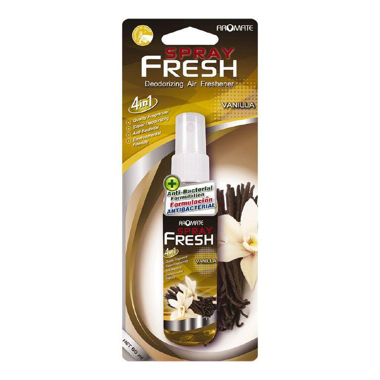 Aromate 4-in-1 Deodorizing Spray Vanilla, , hi-res