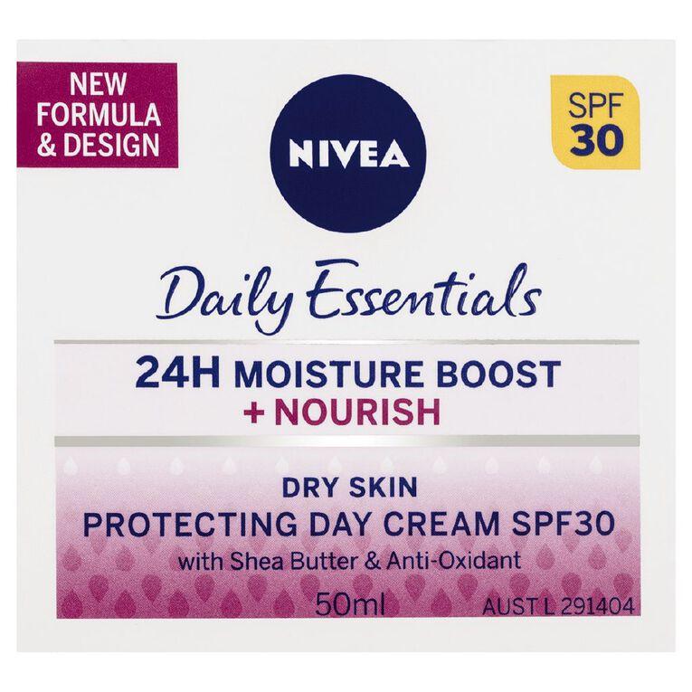 Nivea Daily Essentials Rich Moisturising Cream SPF30+ 50ml, , hi-res