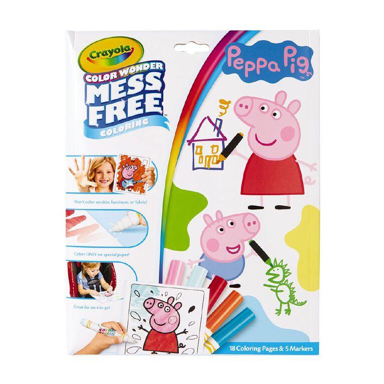 Crayola Color Wonder Peppa Pig, , hi-res