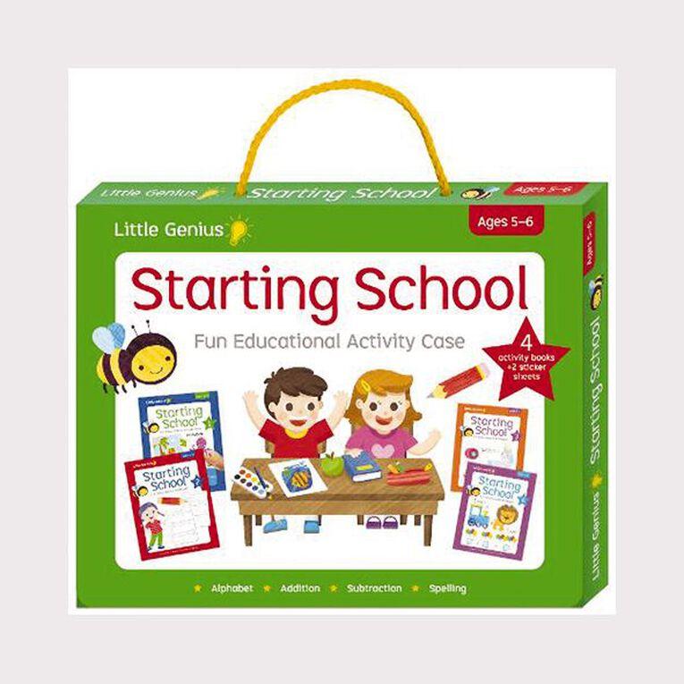 Little Genius Activity Case: Starting School, , hi-res