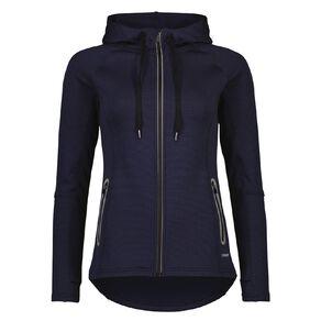 Active Intent Women's Self Stripe Fleece Sweatshirt
