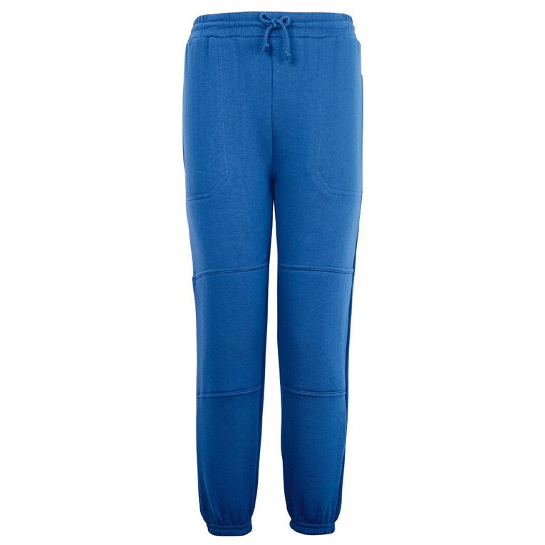 Schooltex Double Knee Trackpants, Royal, hi-res