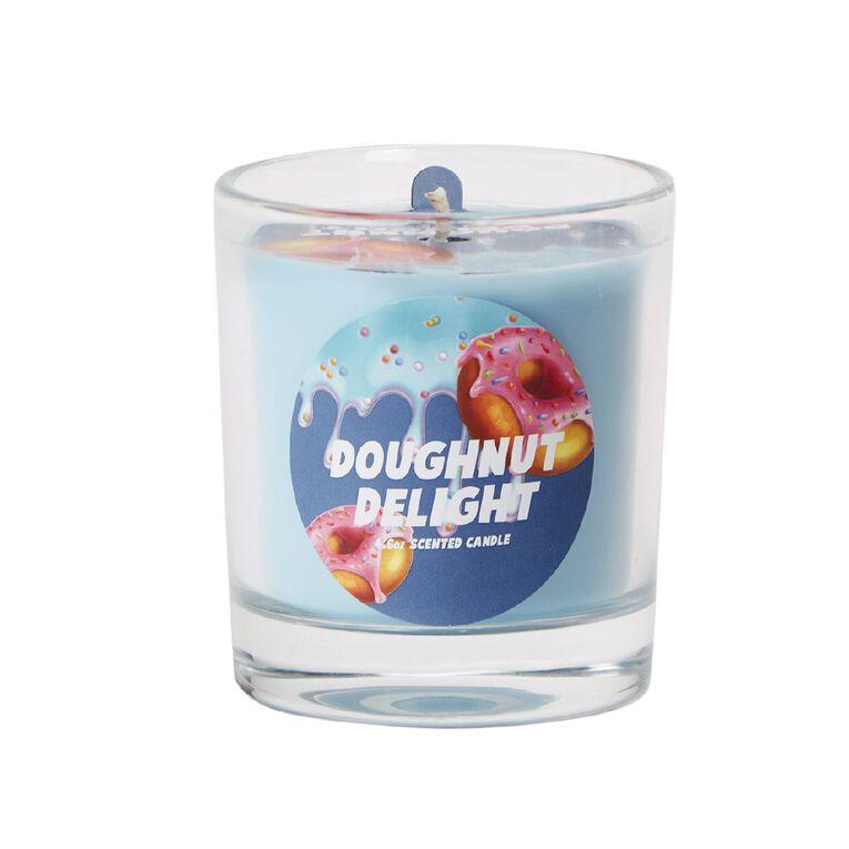 Living & Co Candyshop Doughnut Delight Candle Blue, , hi-res