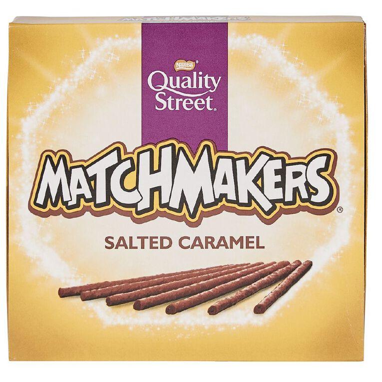 Nestle Quality Street Matchmakers Salted Caramel 120g, , hi-res
