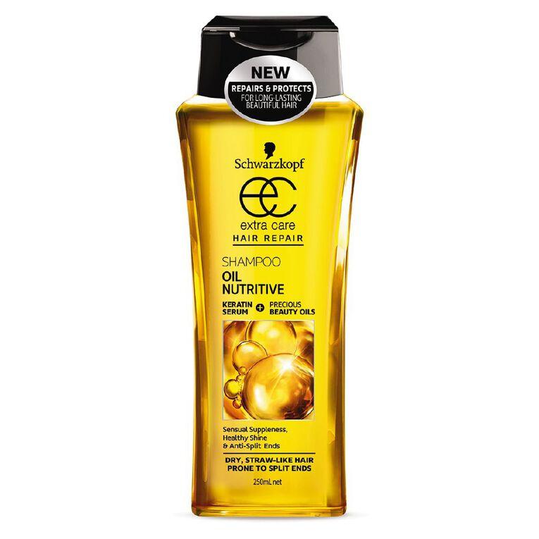 Schwarzkopf Extra Care Shampoo Oil Nutritive 250ml, , hi-res
