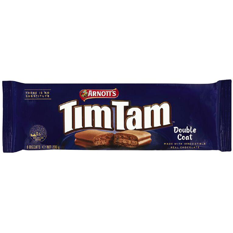 Arnott's Arnotts TimTam Double Coat Biscuits 200g, , hi-res