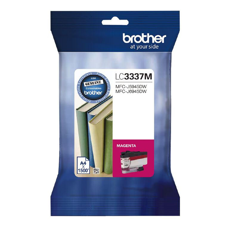 Brother Ink LC3337M Magenta (1500 Pages), , hi-res